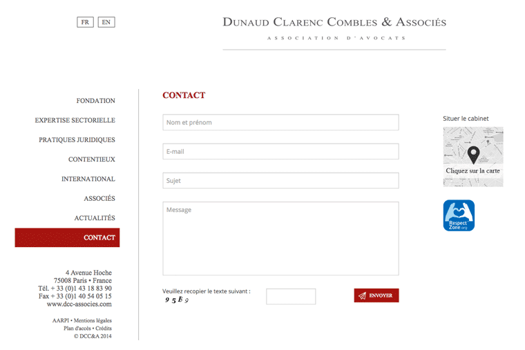 contact-avocat-Paris-création-de-site-internet-sur-mesure - agence web pour avocat