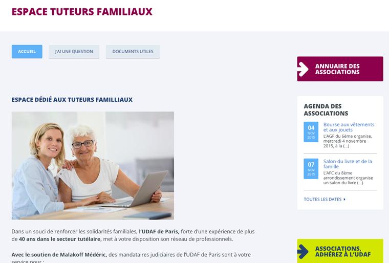 création-site-internet-avec-le-CMS-SPIP-pour-l'UDAF-75-PARIS