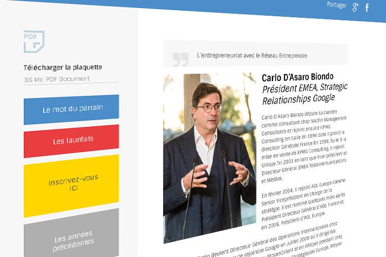 agence de communication Val d'Oise creation-site-web-95-réseau-entreprendre-95