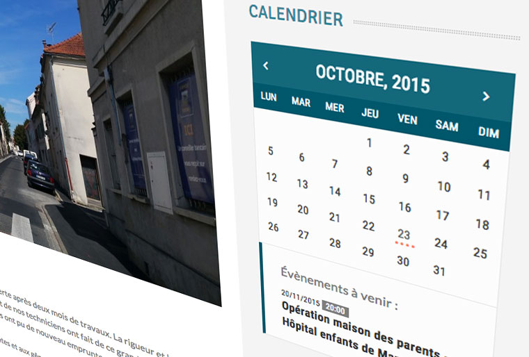 module-agenda-wordpress-creation-site-mairie-Val-doise
