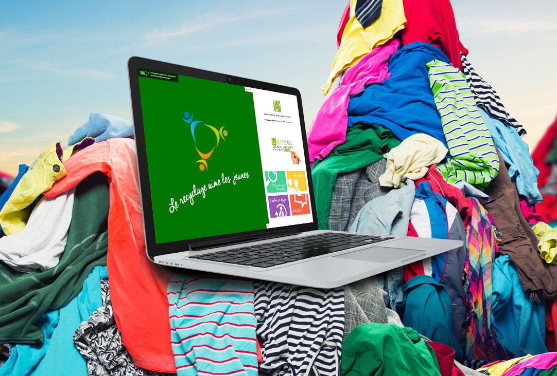 site-internet-le-recyclage-aime-les-jeunes-FEDEREC Développement WordPress