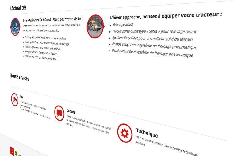 conception-de-site-web-CMS-spip-pour-l'entreprise-HB-secteur-agricole