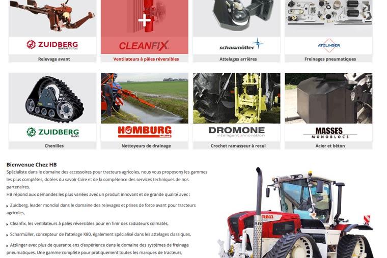 création-de-site-internet-spip-pour-l'entreprise-HB-secteur-agricole