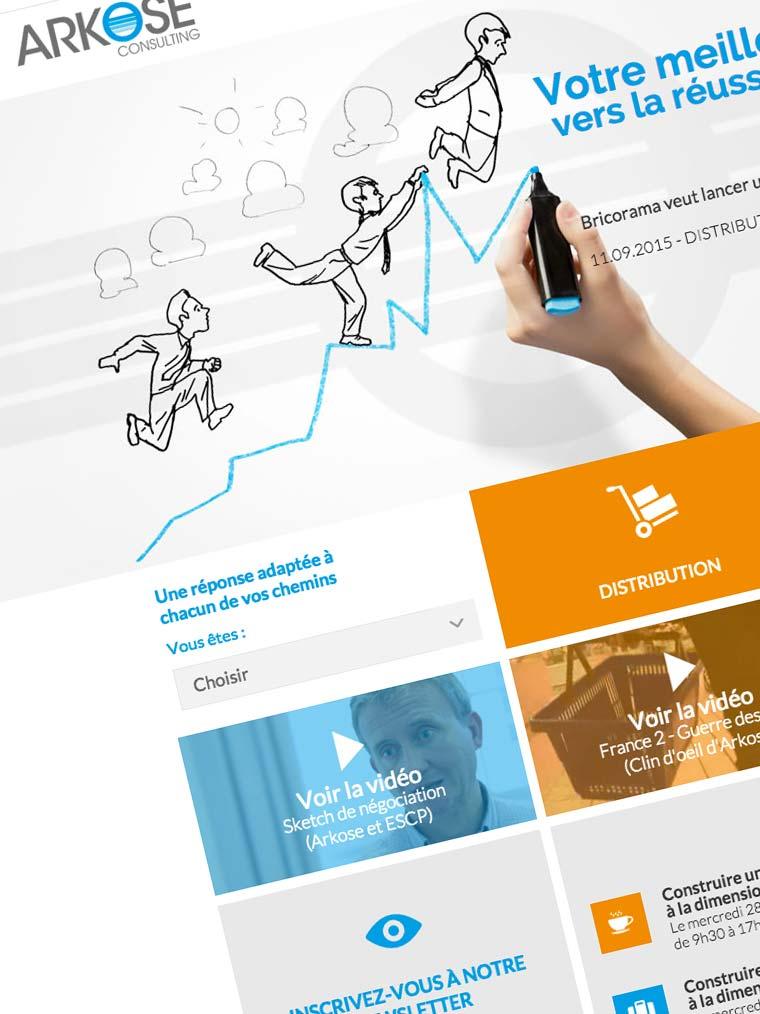 création-du-site-sur-symphonie-pour-l'entreprise-ARKOSE-consulting