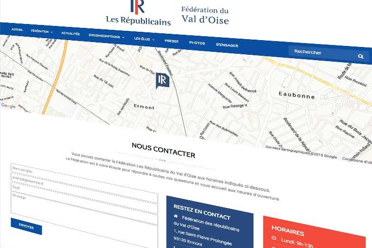 fomulaire-de-contact-wordpress-site-web-les-républicains- communication digitale