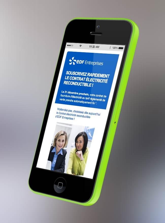 agence web mailing-responsive-edf-entreprise